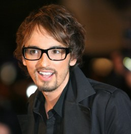 French singer Christophe Willem poses up