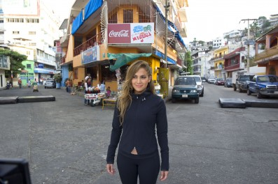 """Jennifer Lopez On Location In Mexico To Shoot Her Newest Music Video """"Follow the Leader"""""""