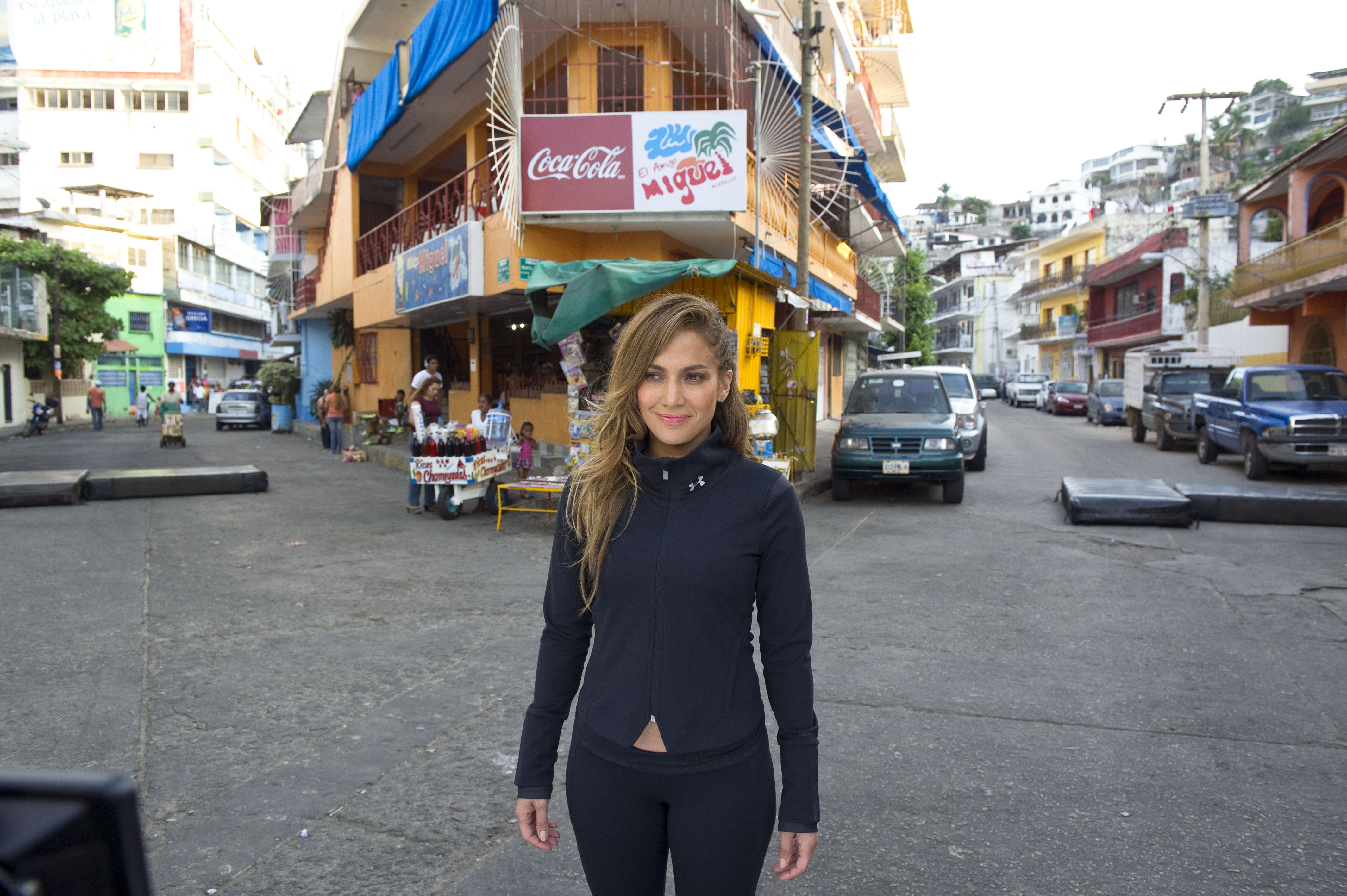 "Jennifer Lopez On Location In Mexico To Shoot Her Newest Music Video ""Follow the Leader"""