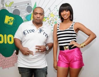 "MTV's ""TRL"" at MTV Studios on July 14, 2008 in New York City."