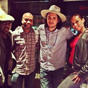 Alicia Keys Krucial John Mayer