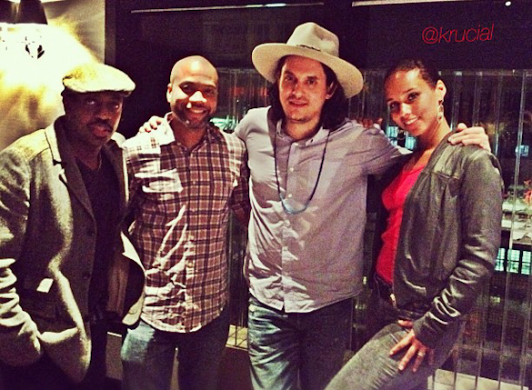 Alicia Keys Krucial John Mayer