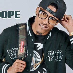 "Pure DOPE Magazine; August Alsina - Fall 2k13 ""NOW"" Issue"