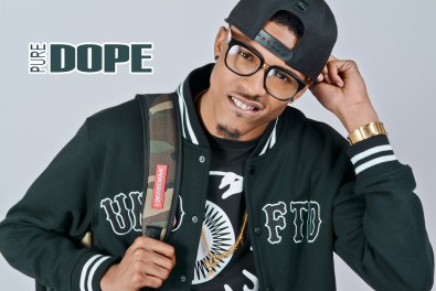 """Pure DOPE Magazine; August Alsina - Fall 2k13 """"NOW"""" Issue"""