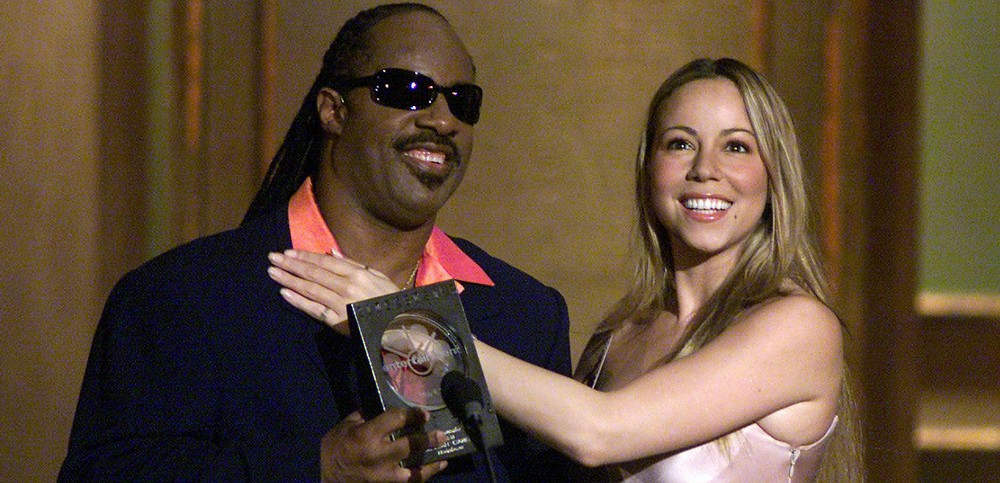 Mariah Carey,Stevie Wonder.