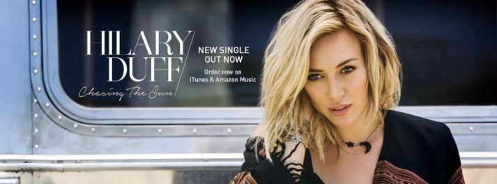Hilary Duff new single Chasing the sun