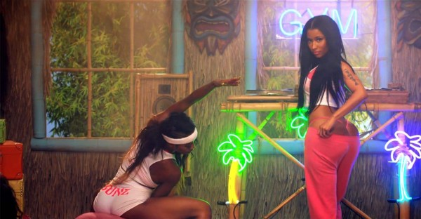 Nicki Minaj Anaconda MTV