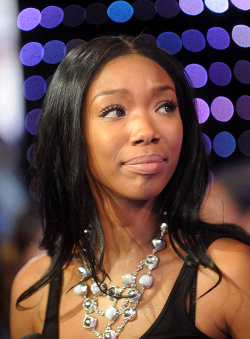 MTV TRL Presents Brandy And Rosario Dawson