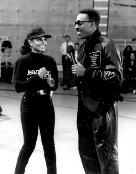 Janet Jackson et Arsenio Hall