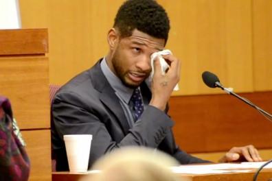 Usher-crying