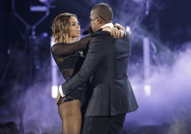 Beyonce et Jay-z au Music Grammys