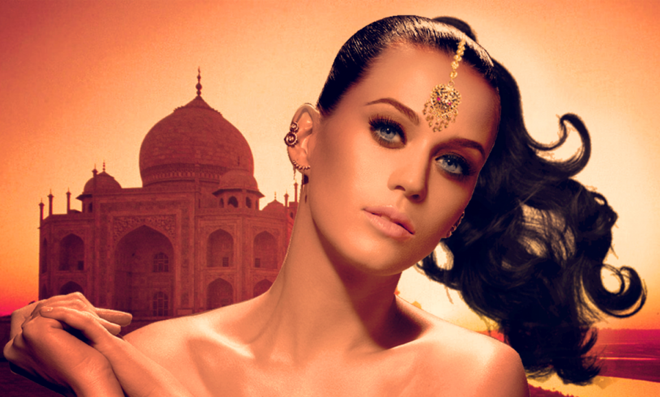 Katy Perry façon Indienne