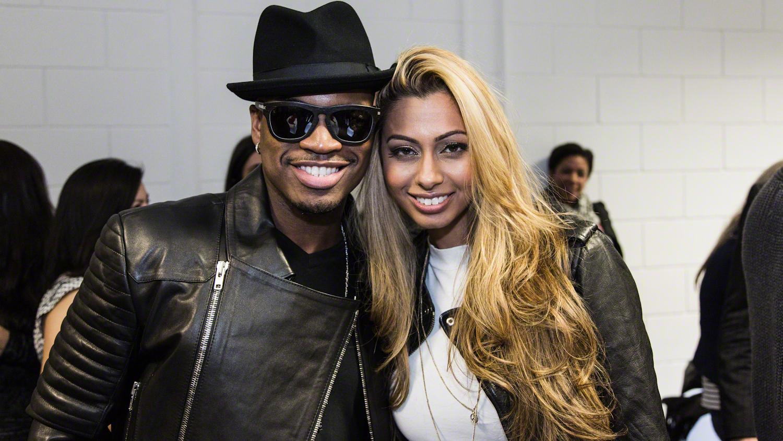 Ne-Yo with Artist Sonna Rele