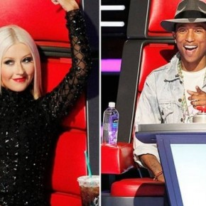 christina-aguilera-pharrell-williams-the-voice