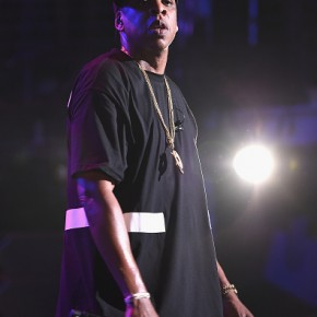 NEW YORK, NY - MAY 16:  Jay-Z performs during TIDAL X: Jay-Z B-sides in NYC on May 16, 2015 in New York City.  (Photo by Theo Wargo/Getty Images for Live Nation)
