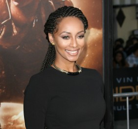 """Los Angeles """"Riddick"""" Premiere held at XXX in Westwood.  Featuring: Keri Hilson Where: Los Angeles, CA, United States When: 28 Aug 2013 Credit: Adriana M. Barraza/WENN.com"""