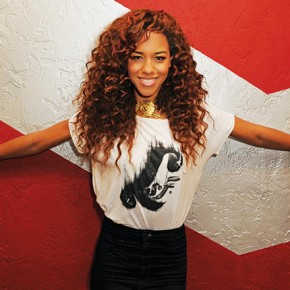 Natalie La Rose visits Radio Station 97.3 The Hits