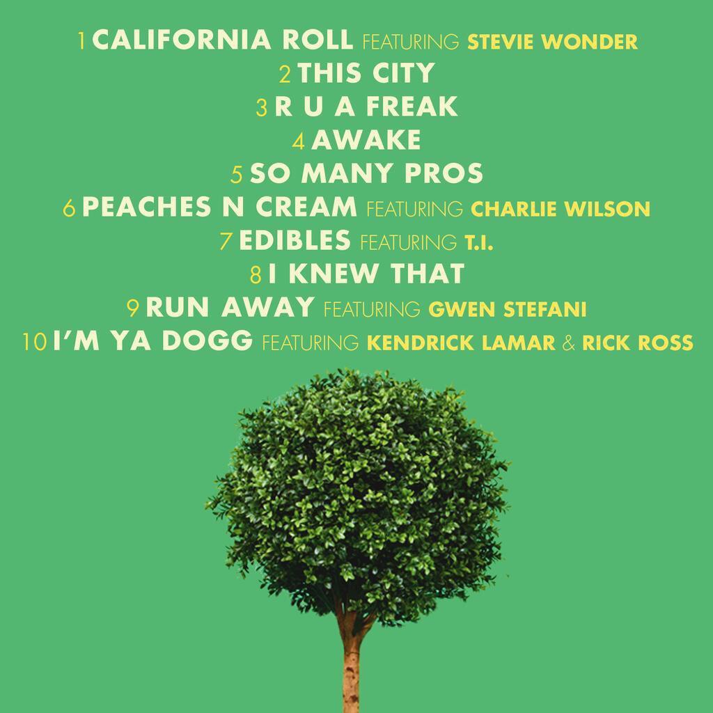 snoopdogg-bush-tracklist