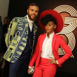 Jidenna-Janelle-Monae-Red-Pantsuit