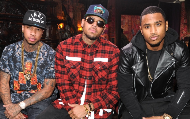 Tyga,Chris Brown,Trey Songz
