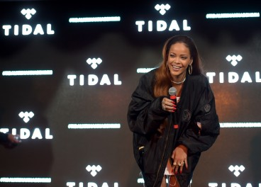 (Exclusive Coverage) Fans enjoy the TIDAL X: RIHANNA BBHMM event at The Bob Baker Marionette Theater on July 1, 2015 in Los Angeles, California.