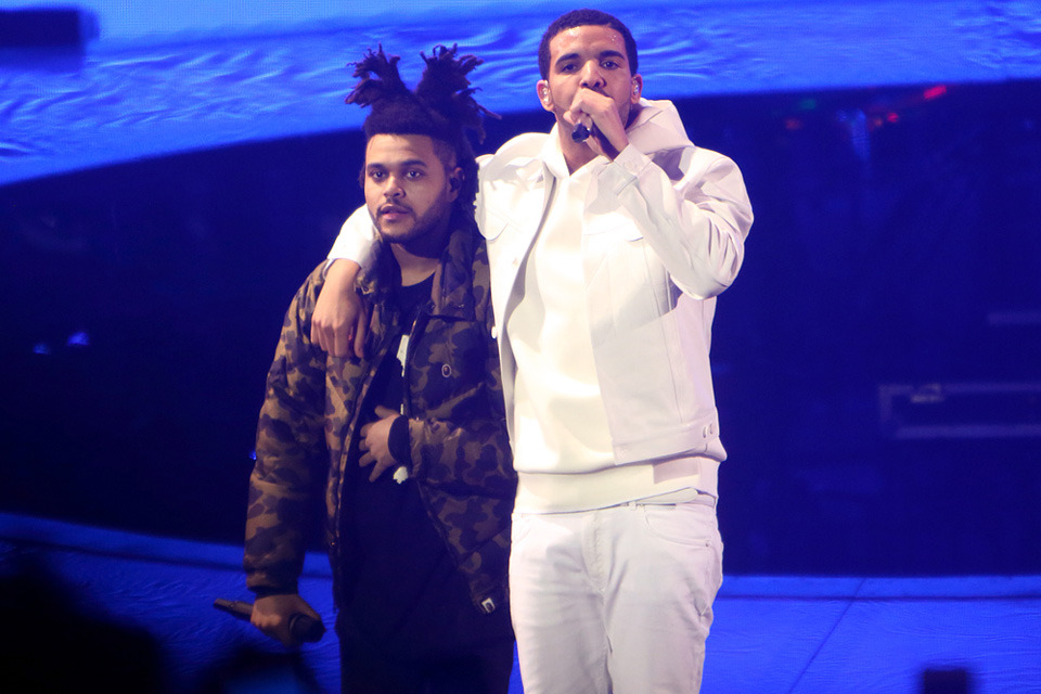Drake and The Weeknd - O2 Arena, London 25/03/2014 | Photo by Bu