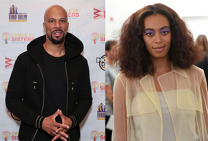 Solange, Common propose son remix de sa chanson « Cranes In The Sky ».